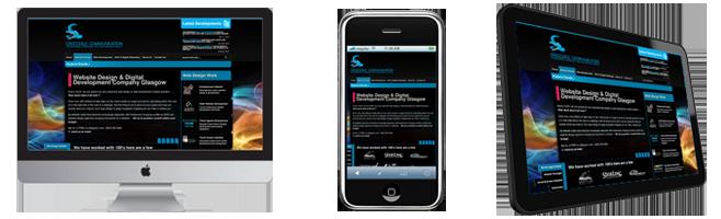 Responsive web and app development